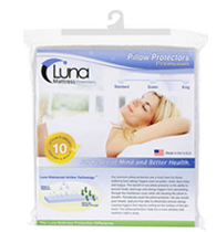 Luna Waterproof Pillow Protectors